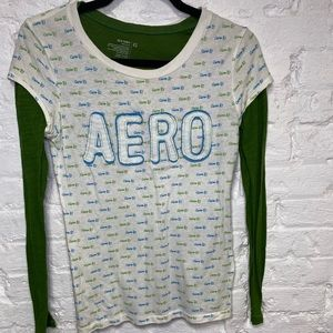 Aero Shirt with Old Navy Undershirt!